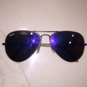 Purple tint Ray Ban Sunglasses